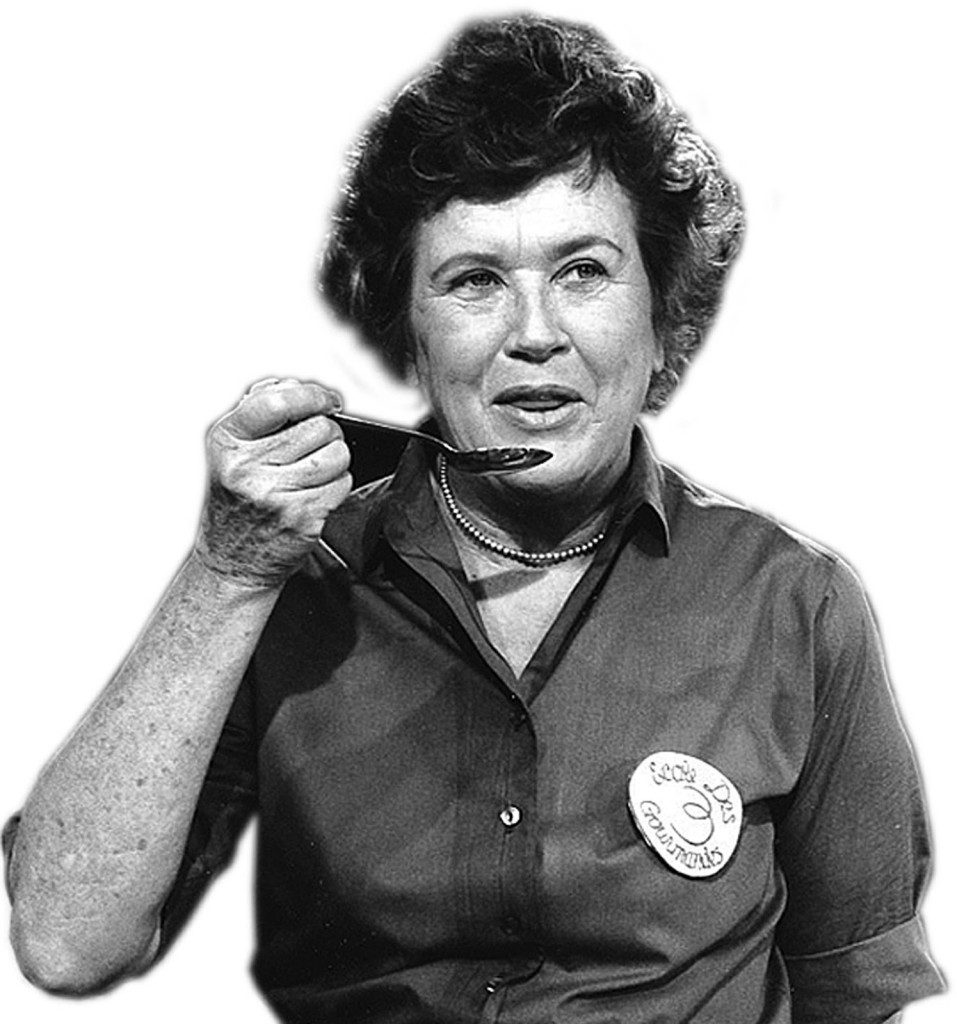 food media pioneer Julia Child