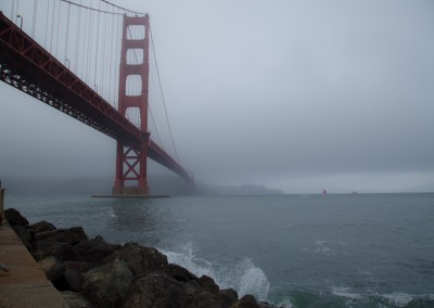 Golden Gate Bridge Fog 2