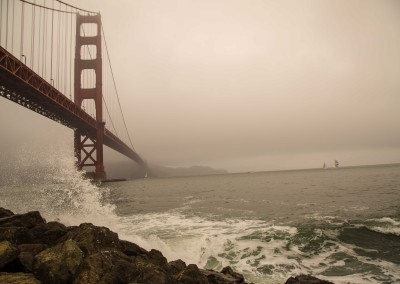 Golden Gate Bridge Fog3