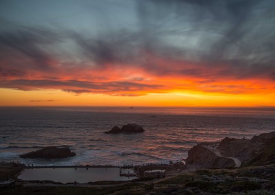Sutro Baths Sunset LoRes